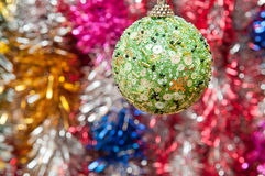 New Year's sphere Royalty Free Stock Image
