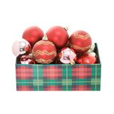 New Year's spheres Royalty Free Stock Photos