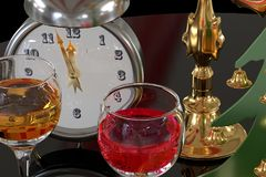 New Year`s time. Stock Images