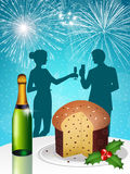 New Year's toast Stock Photography