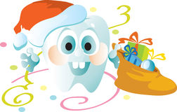 New Year's tooth Stock Images