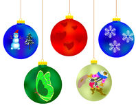 New year's toys Royalty Free Stock Photography