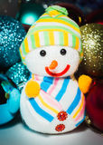 New Year`s toys. Cristmas Royalty Free Stock Photos