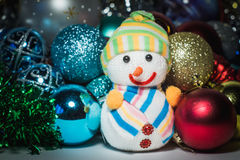 New Year`s toys. Cristmas Royalty Free Stock Photography