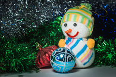 New Year`s toys. Cristmas Stock Image