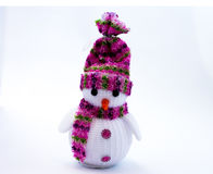 New Year`s toys and figurines Royalty Free Stock Images