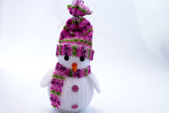 New Year`s toys and figurines Stock Image