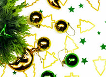New Year`s toys Royalty Free Stock Photo