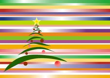New Year's tree Royalty Free Stock Images