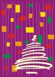 New Year's tree Stock Photos