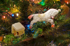 New-Year's Tree decoration Royalty Free Stock Photo
