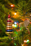 New-Year's Tree decoration Stock Photos