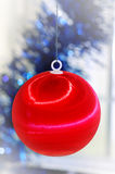 New-year`s tree decorations Royalty Free Stock Image