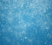 New Year's winter background Royalty Free Stock Photography