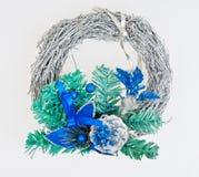 New Year's wreath Royalty Free Stock Photos
