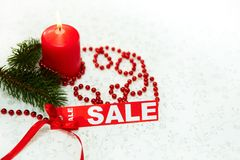 New Year sale Royalty Free Stock Photography