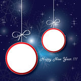 New year sale banner Stock Images