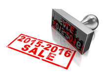 New year sale Stock Image