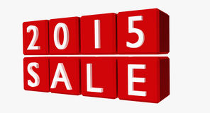 New Year 2015 Sales Stock Images