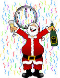 New_year_santa_3 Stock Images