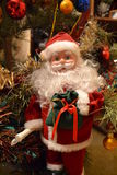 New Year Santa Claus toy Stock Photos