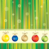 New Year seamless background Stock Images