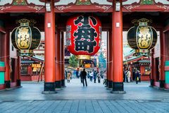 New Year at Sensoji Temple Royalty Free Stock Photo