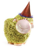 New Year Sheep Royalty Free Stock Photography