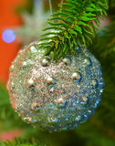 New Year shine ball Stock Image
