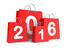 New year shopping Stock Photography