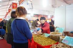 New Year Shopping Festival Royalty Free Stock Photos