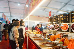 New Year Shopping Festival Stock Photography