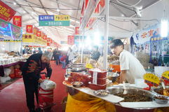 New Year Shopping Festival Stock Images
