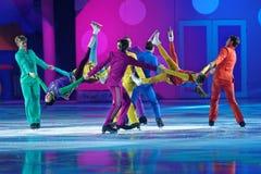 New Year show Karlsson-on-the-Roof of Ilya Averbukh Stock Image