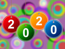 New Year Shows Celebrations Twenty And Celebration Royalty Free Stock Photos