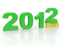 New year sign 2012 Royalty Free Stock Images