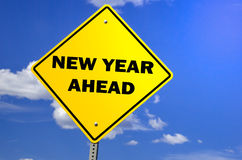 New Year Sign Royalty Free Stock Photos