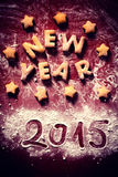 New Year sign royalty free stock photography