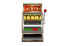 New year 2015 in slot machine vector Stock Image