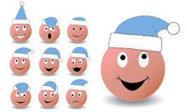 New year Smiles Royalty Free Stock Image