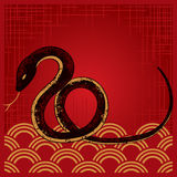 New Year Snake Design Stock Photo