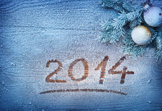 New Year 2014. Royalty Free Stock Photos