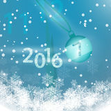 New Year snow happy new year celebration christmas 2016 2017. 2017, 2016, new year, snow, snowfall, christmas, it's 12 o'clock, happy new year, international Stock Image