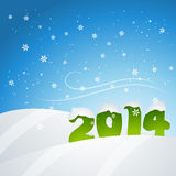 New year snowfall Stock Images