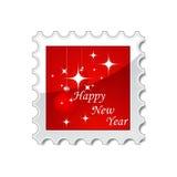 New Year stamp Stock Photo