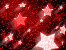 New year stars Royalty Free Stock Image