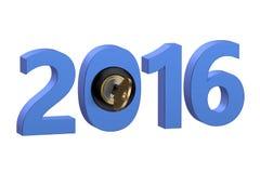 New Year start 2016 Royalty Free Stock Image