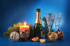New Year still life Royalty Free Stock Photos