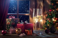 New year still life royalty free stock images