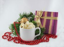 New Year still life Stock Photography